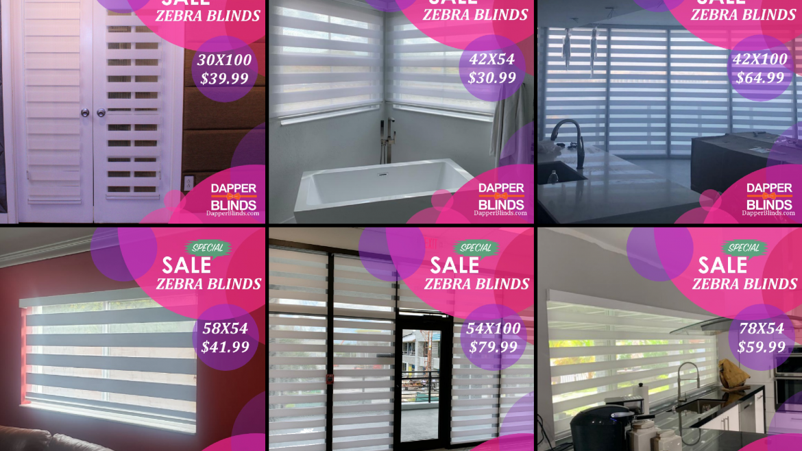 Zebra Blinds Discounts